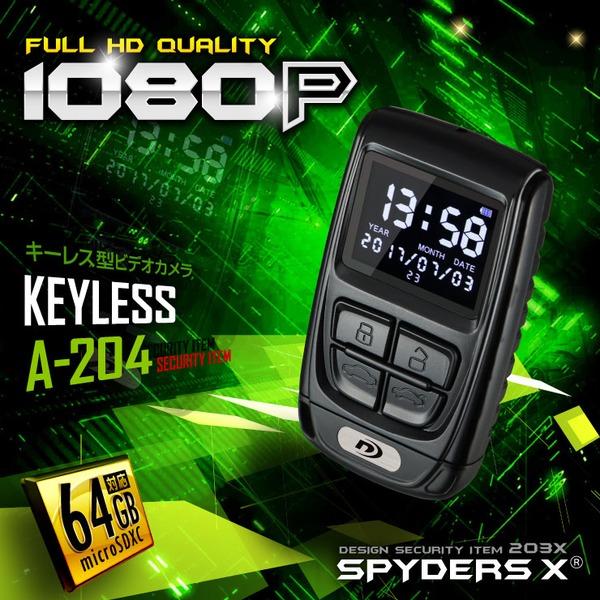A-204/TFTモニター付き/動画再生対応/時計表示/64GB/超高性能