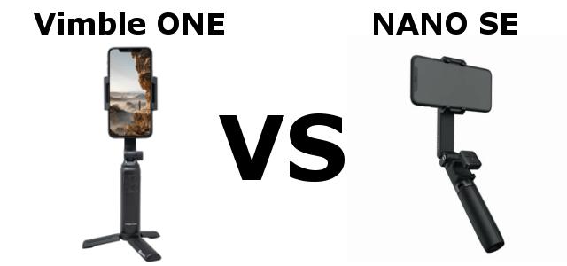 Vimble ONE VS NANO SEの比較